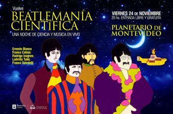 Vuelve 'Beatlemanía Científica'
