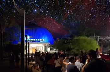 Actividades en el Planetario de Montevideo
