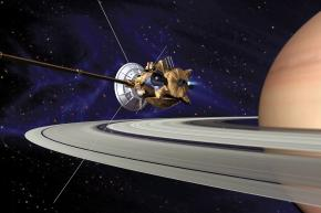 Misión Cassini en Saturno