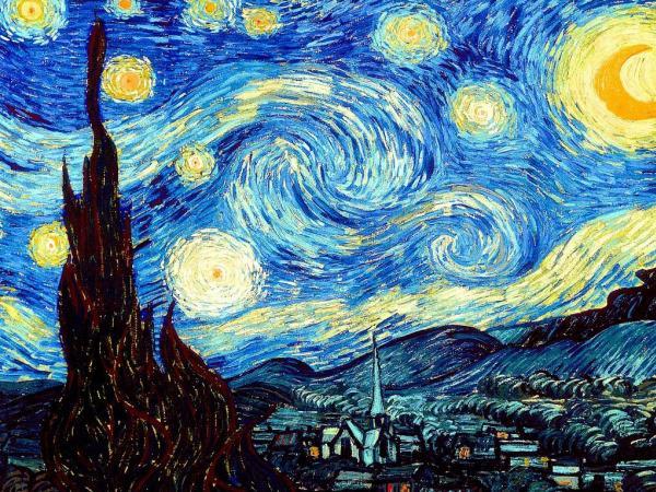 'Noche estrellada' - Vincent Van Gogh, 1888